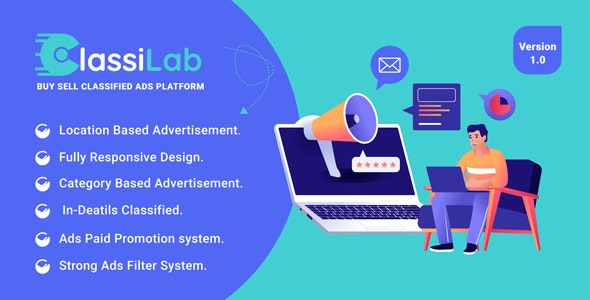 ClassiLab - Buy Sell Classified Ads Listing Platform
