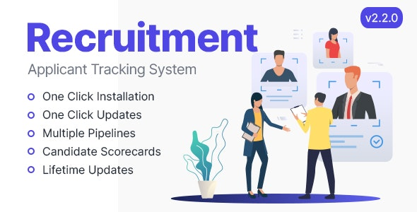Rookie - Recruitment Management System - CodeCanyon Item for Sale