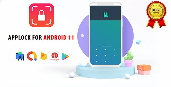 Applock Kotlin Android 11 - CodeCanyon Item for Sale