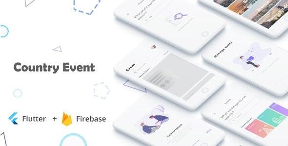 GetEvent - Flutter Event Booking in Flutter event apps - CodeCanyon Item for Sale