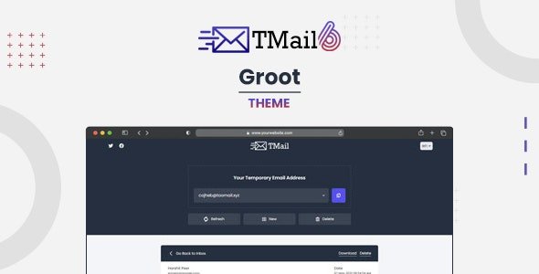 Groot - Theme for TMail - CodeCanyon Item for Sale