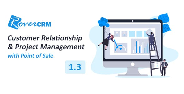 RoverCRM - Customer Relationship And Project Management System