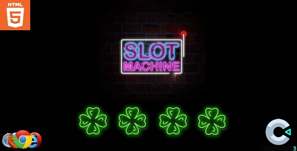 Slot Machine - HTML5 - CodeCanyon Item for Sale