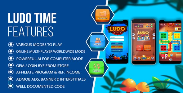 Ludo Time - Multiplayer Online Ludo Game - CodeCanyon Item for Sale