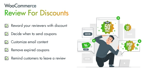 Revio - WooCommerce Reviews for Discount - CodeCanyon Item for Sale