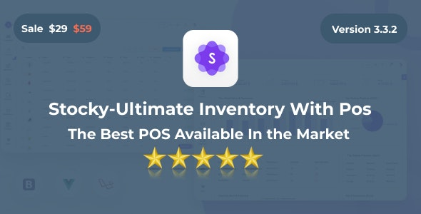 Stocky v3.3.1 – Ultimate Inventory Management System with Pos
