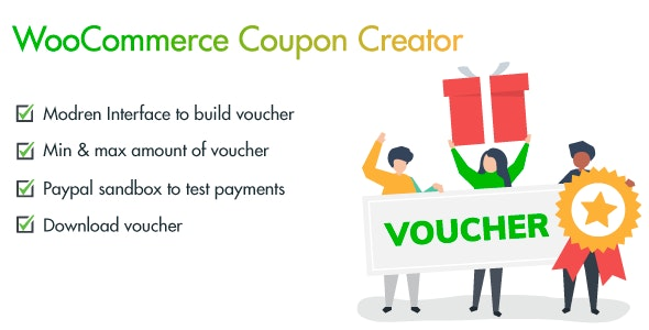 WooCommerce Coupon and Voucher Creator - CodeCanyon Item for Sale