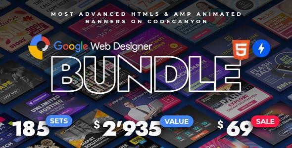 YN Bundle - Most Advanced HTML5 & AMP Banner Bundle made with Google Web Designer