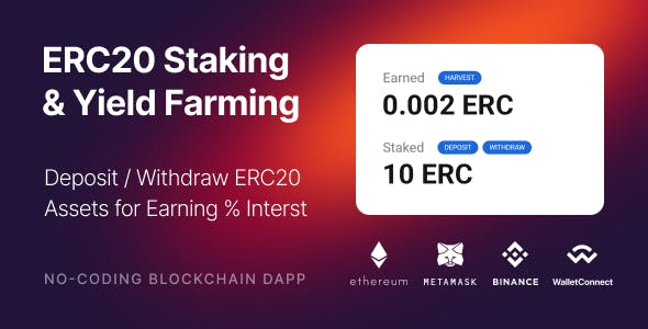 FarmFactory - assets staking & yield farming on Ethereum, Binance Smart Chain and Polygon