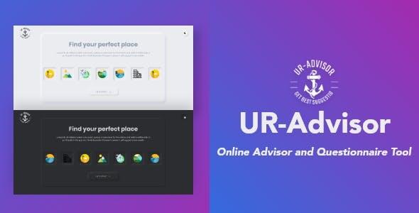 UR-Advisor :: Online Advisor and Questionnaire Tool