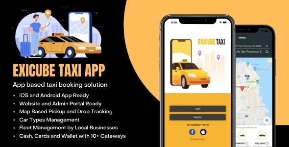 Exicube Taxi App v1.4.0