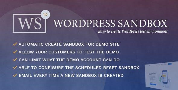 WordPress Sandbox - Easy To Create a Test Environment