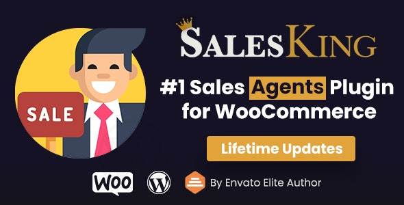 SalesKing - Ultimate Sales Team, Agents & Reps Plugin for WooCommerce - CodeCanyon Item for Sale