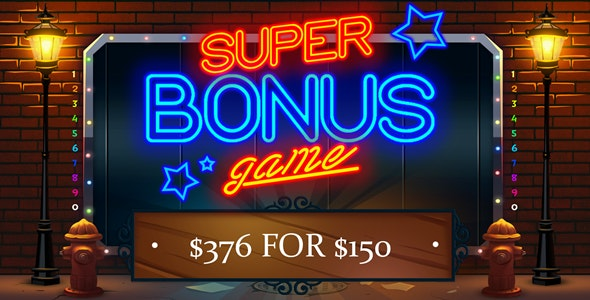 9 Casino Slot Machine Games $376 for $150 - CodeCanyon Item for Sale