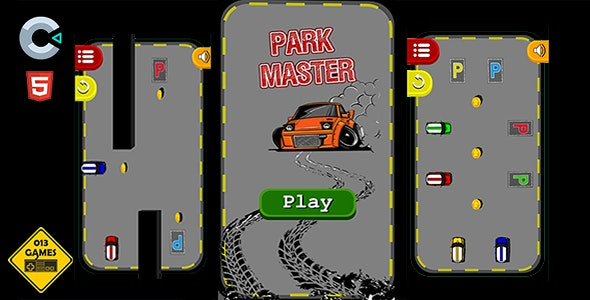 Park Master - HTML5 Mobile Game - CodeCanyon Item for Sale