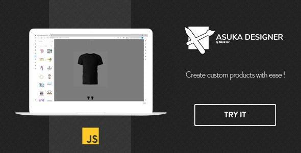 Asuka product designer - JavaScript