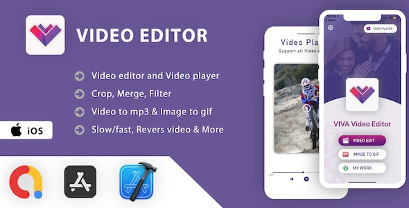 Video Editor & Video Player App - iOS App Source Code - CodeCanyon Item for Sale