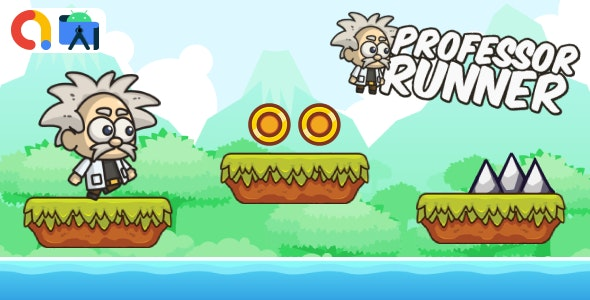 Professor Runner Android Studio Game with AdMob + Ready to Publish - CodeCanyon Item for Sale