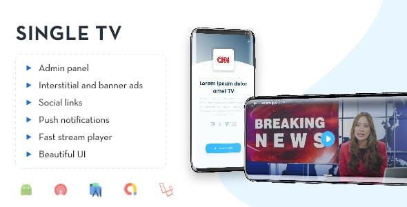 Single TV with Admin Panel.