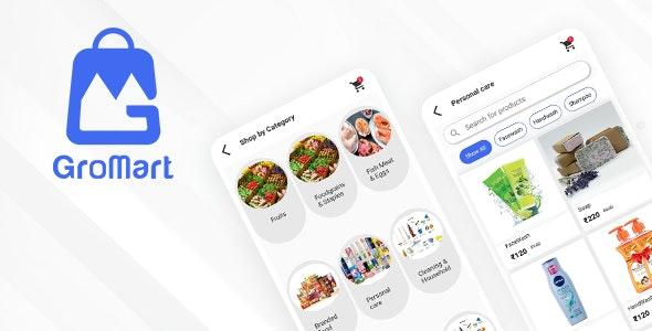 GroMart | Grocery & Vegetables Flutter App Template | UI Kit | Flutter 2.0 - CodeCanyon Item for Sale