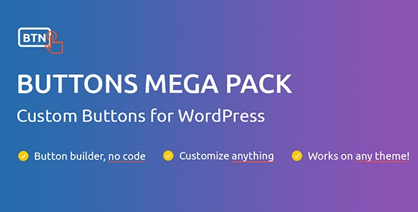 Buttons Mega Pack Pro - CodeCanyon Item for Sale
