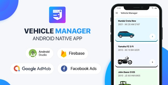 Vehicle Manager with Php Backend - Android (Kotlin)