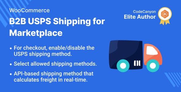 Multi Vendor B2B USPS Shipping for WooCommerce