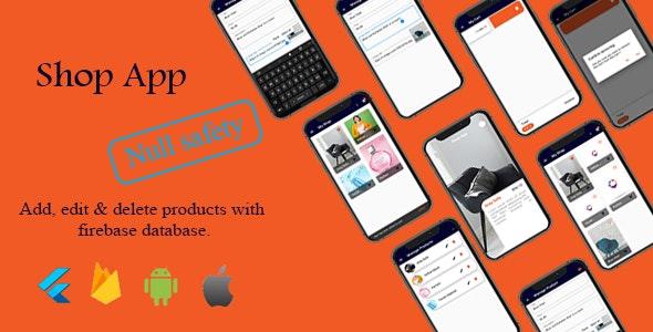 Flutter Shop App - CodeCanyon Item for Sale