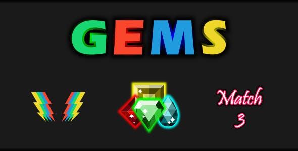 Gems Match 3
