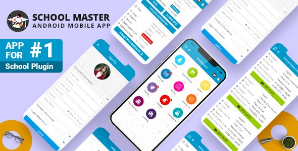 School Master Mobile App for Android - CodeCanyon Item for Sale