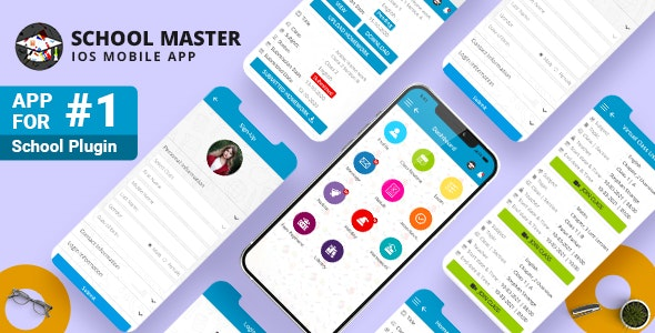 School Master Mobile App for iphone - CodeCanyon Item for Sale