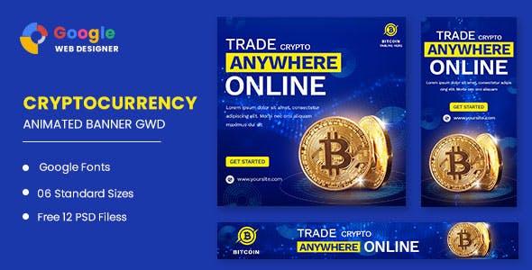 Trade Bitcoin Animated Banner Google Web Designer