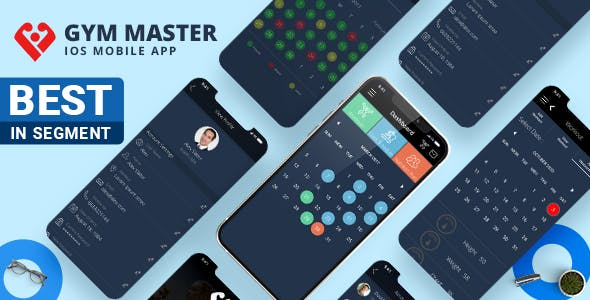Gym Master Mobile App for iphone