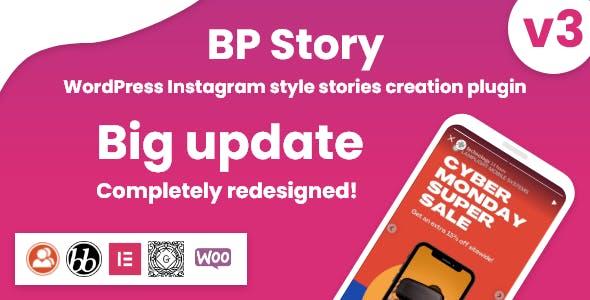 Instagram style stories for WordPress - BP Story