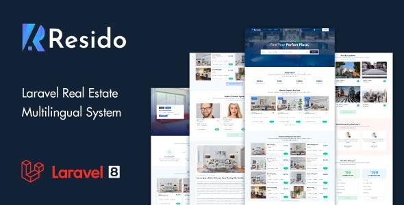 Resido v1.7.0 – Laravel Real Estate Multilingual System