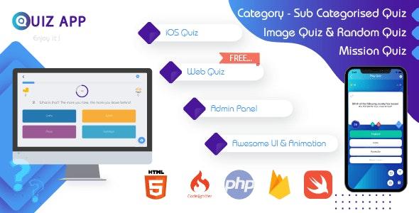 LPK Quiz (iOS + Web App) - CodeCanyon Item for Sale