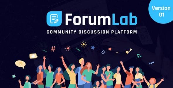 ForumLab v1.0 – Community Discussion Platform