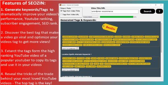 SEOZIN: Youtube SEO Booster