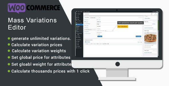 WooCommerce Mass Variations Editor - CodeCanyon Item for Sale