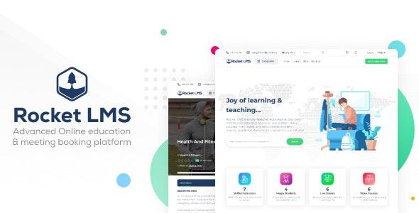 Rocket LMS v1.0 – Learning Management & Academy Script