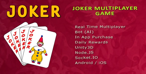 Joker Multiplayer Game - Unity3d   Admob - CodeCanyon Item for Sale