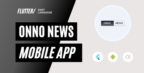 ONNO - Flutter News & Magazine App for Android And iOS - CodeCanyon Item for Sale