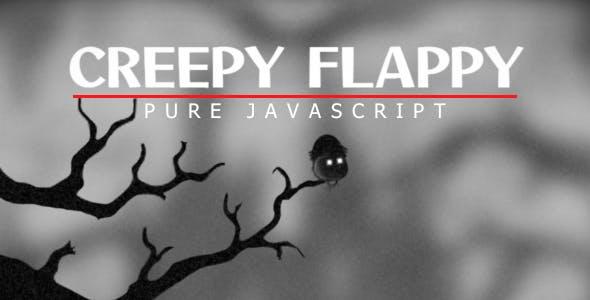 Creepy Flappy - Pure JavaScript