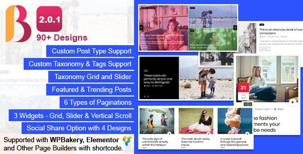 News & Blog Designer Pack Pro - News and Blog Plugin for WordPress and Elementor