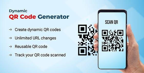 Dynamic QR code generator