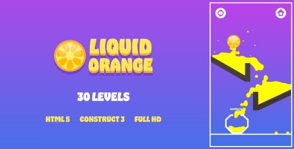 Liquid Orange - HTML5 Game (Construct3)