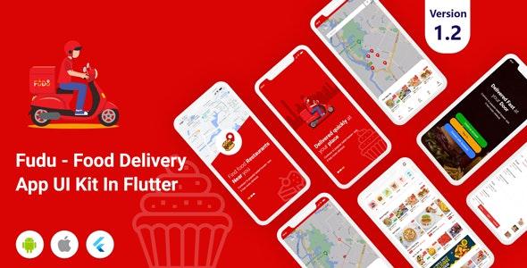 Fudu - Food Delivery Flutter UI Kit - CodeCanyon Item for Sale