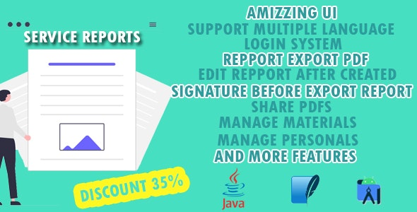Service Report - Fast & Secure & Amizzing UI - CodeCanyon Item for Sale