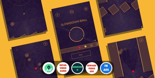 Slowdown : (Android Studio+Facebook Ads+Reward Video Ads+Inapp+Leaderboards+Onesignal)