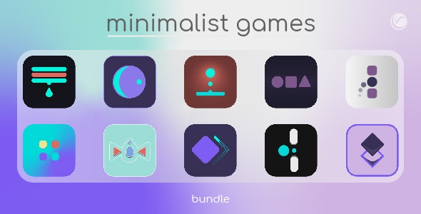 Minimalist Games Bundle 1 | HTML5 • Construct Games - CodeCanyon Item for Sale